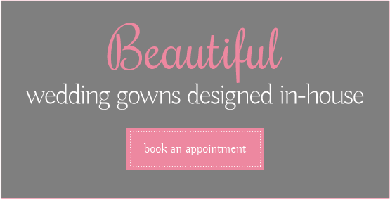 Beautiful wedding gowns design in-house - book an appointment
