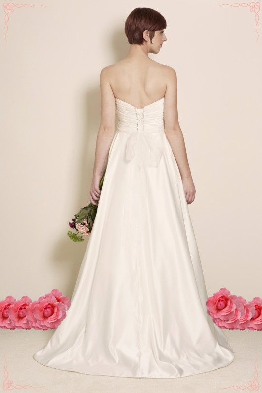 Estilo Moda Bridal Designer Milton Keynes Ball Gown Wedding Dress, Satin Wedding Dress