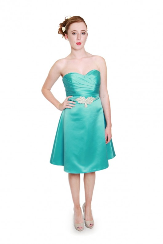 strapless short turquoise bridesmaid dresses milton keynes