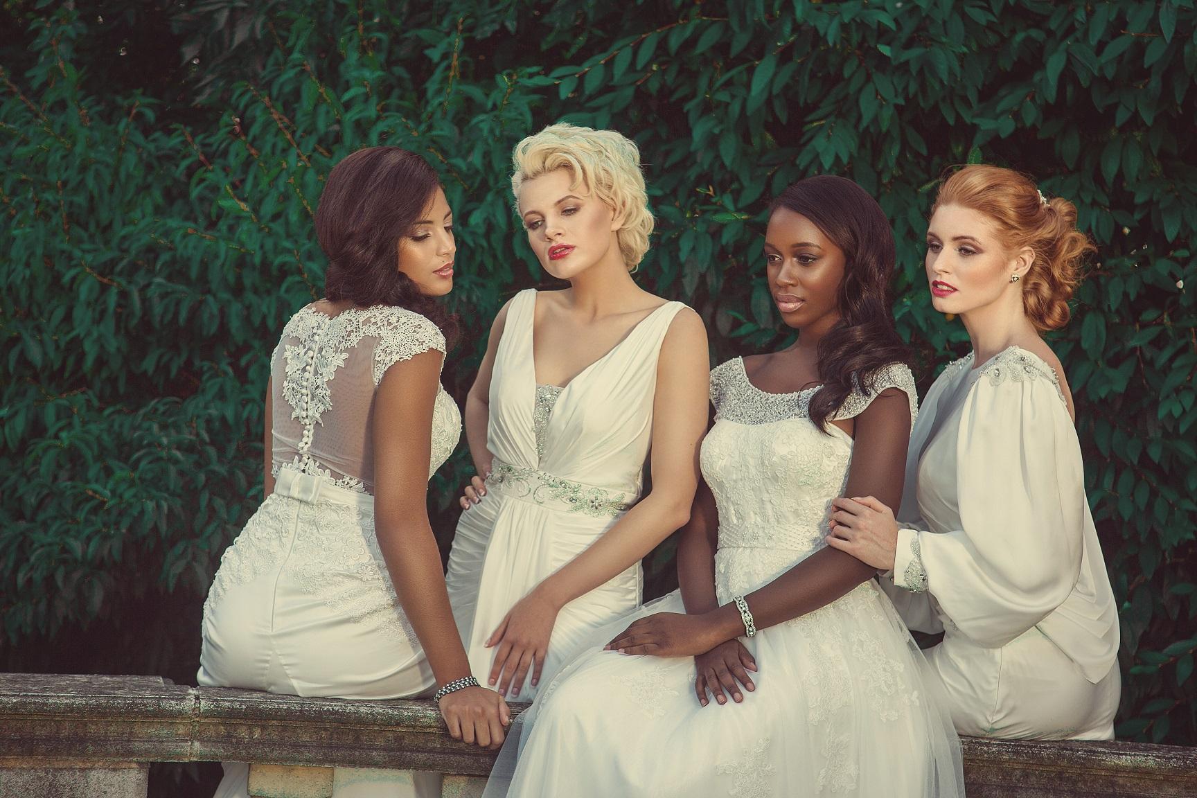 Bridal collection launch in milton keynes estilo moda bridal affordable luxury designer wedding dresses milton keynes london stunning lace satin ombrellifo Images