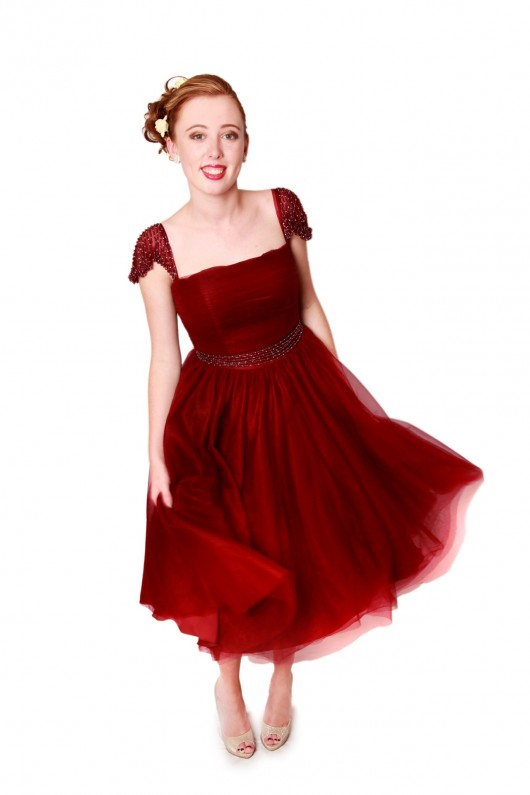 50s style bridesmaid dress milton keynes