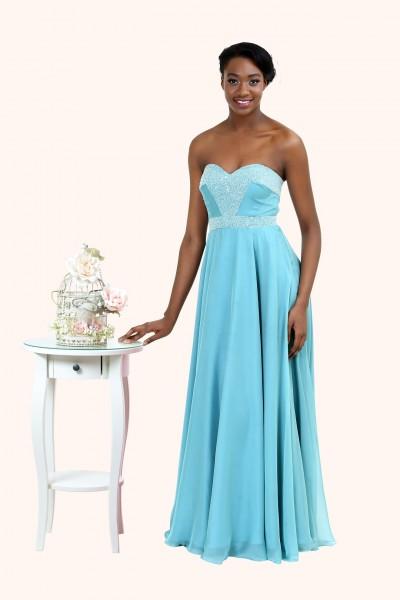 sweetheart neckline bridesmaid dress