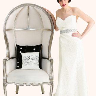 Milton Keynes Estilo Moda Bridal - Bespoke Wedding Dress Designer - Georgina Lace Sweetheart Neckline Strapless Mermaid Wedding Dress
