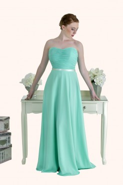 Estilo Moda Bridesmaid Dresses Milton Keynes - Strapless A Line Bridesmaid Dresses