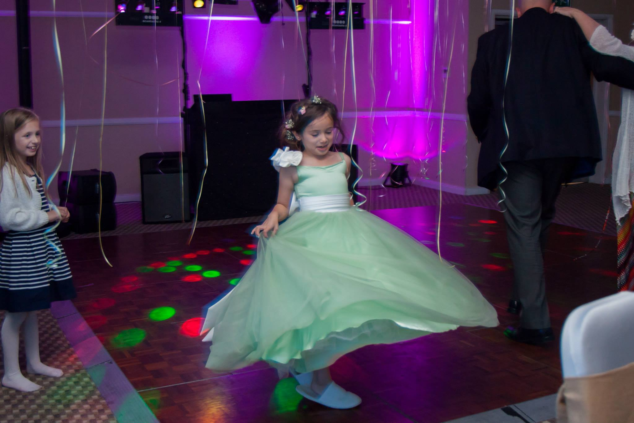 Estilo Moda Reviews Green Flower girls dress Milton Keynes