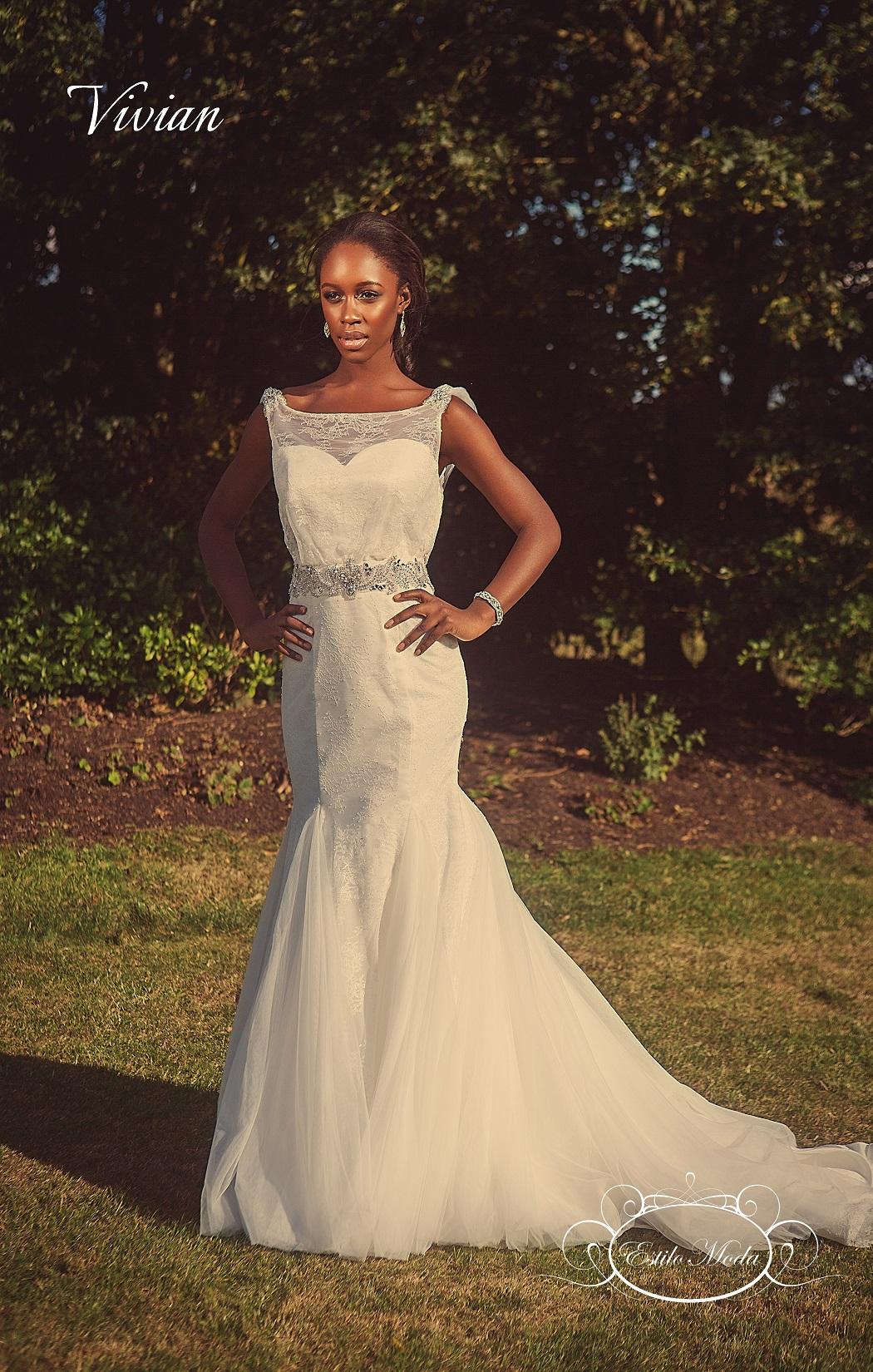 e050c1e553 lace mermaid wedding dress with illusion neckline