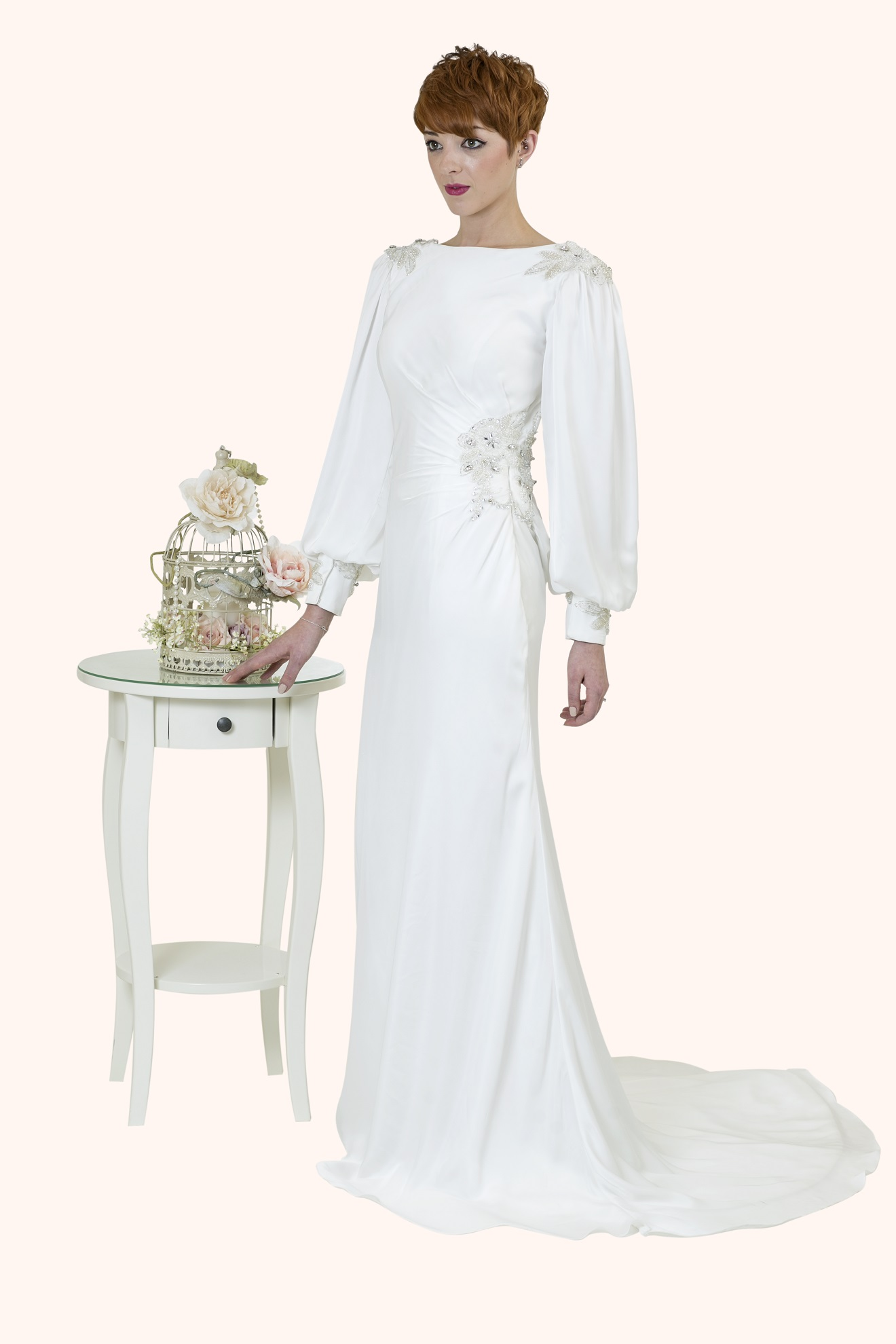 Isabella - Great Gatsby Wedding Dress Design