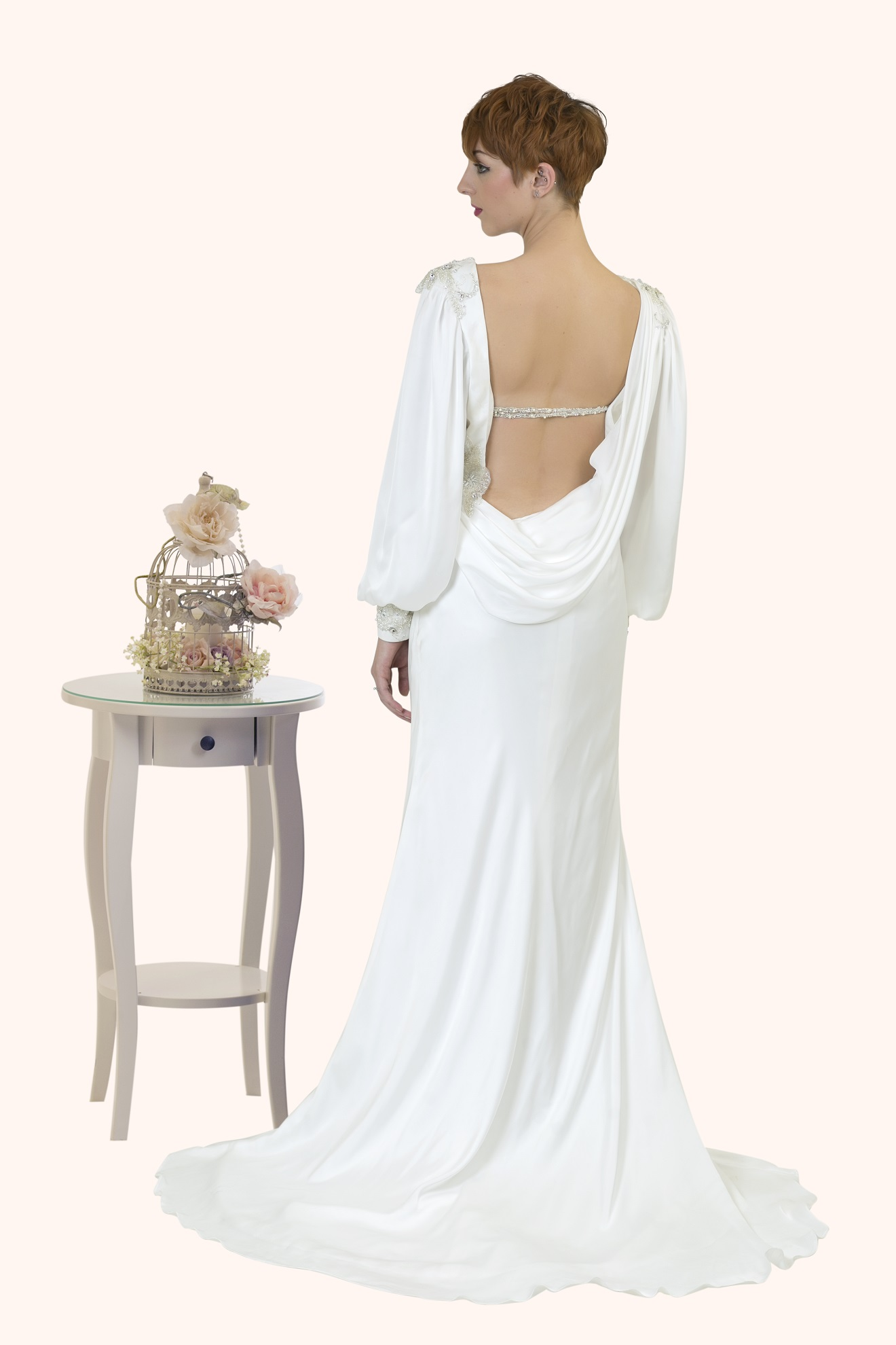 Isabella Great Gatsby Wedding Dress Design
